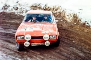 1973 Schimpf Ford Capri Monte Carlo Rennen