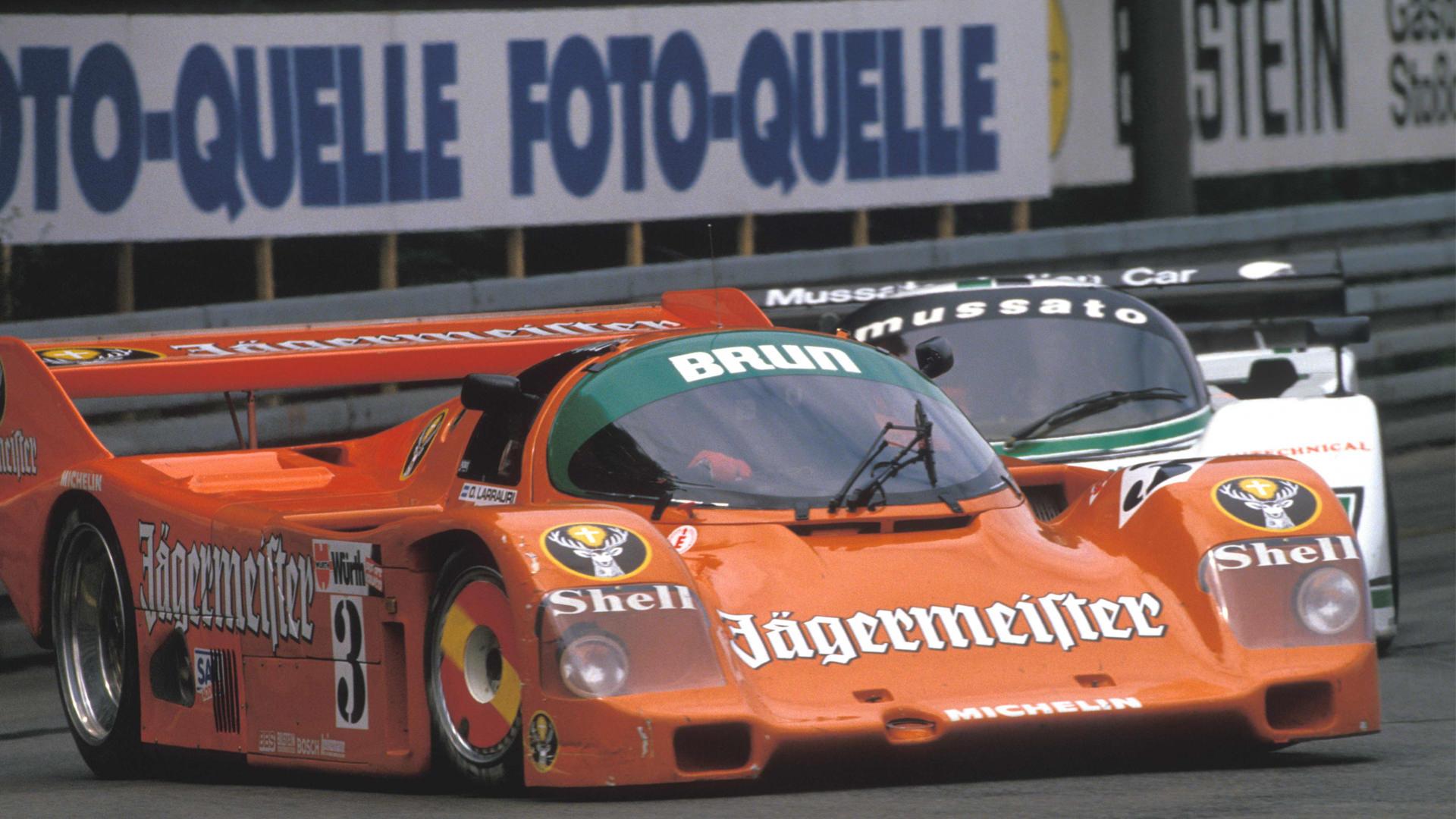1987 Larrauri Porsche 962 Supercup