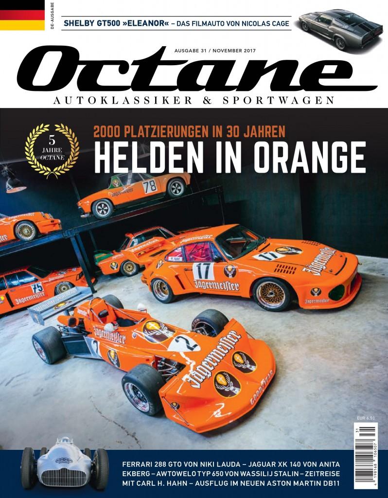 Cover OCTANE Ausgabe 31